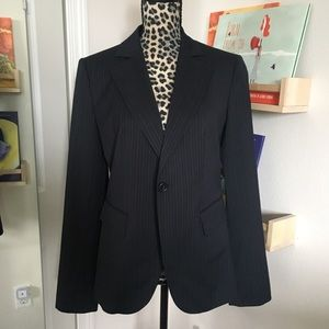 Benetton pin stripe suit jacket